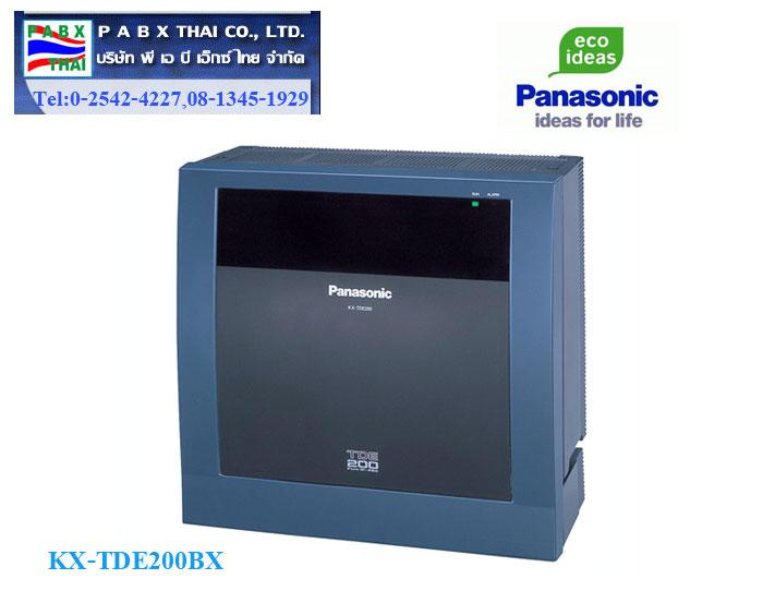 KX-TDE200BX โครงตู้+CPU